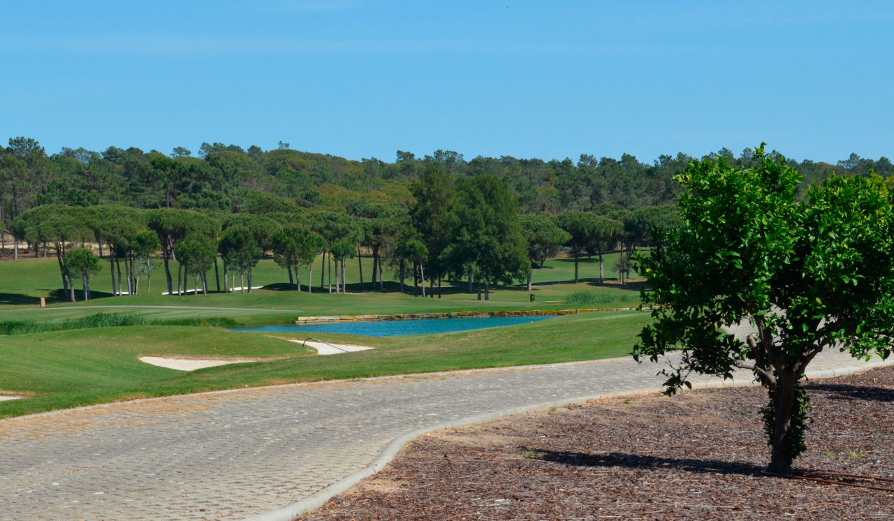 Golf course Laranjal in Quinta do Lago, Monte da Quinta,Algarve
